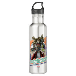 Guardians of the Galaxy | Retro Crew Art 710 Ml Water Bottle