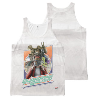 Guardians of the Galaxy | Retro Crew Art All-Over-Print Tank Top