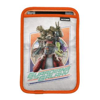 Guardians of the Galaxy   Retro Crew Art iPad Mini Sleeve