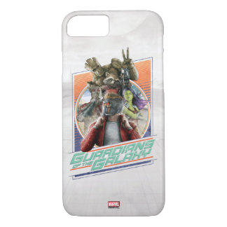 Guardians of the Galaxy | Retro Crew Art iPhone 8/7 Case