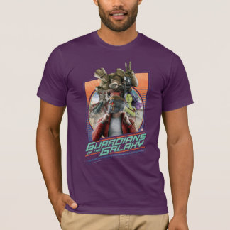 Guardians of the Galaxy | Retro Crew Art T-Shirt