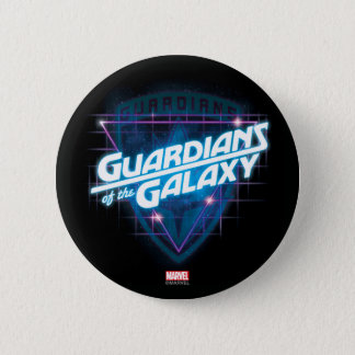 Guardians of the Galaxy   Retro Logo 2 Inch Round Button