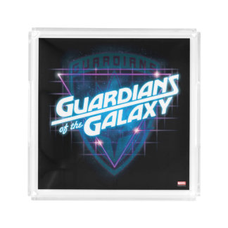 Guardians of the Galaxy | Retro Logo Acrylic Tray
