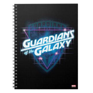 Guardians of the Galaxy | Retro Logo Notebooks