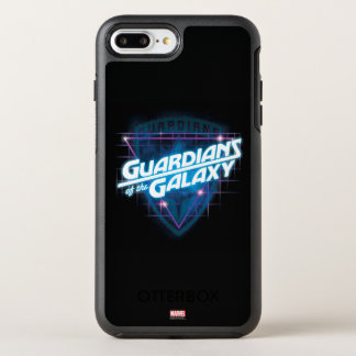Guardians of the Galaxy | Retro Logo OtterBox Symmetry iPhone 8 Plus/7 Plus Case