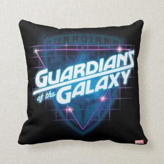 Guardians of the Galaxy | Retro Logo Throw Pillow