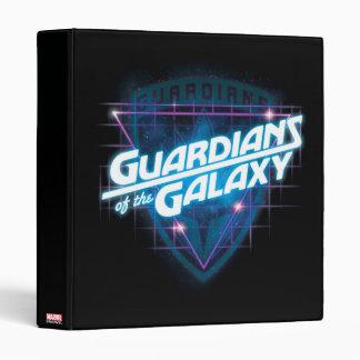 Guardians of the Galaxy | Retro Logo Vinyl Binders