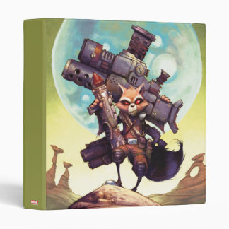 Guardians of the Galaxy | Rocket Armed & Ready 3 Ring Binders