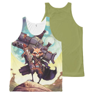 Guardians of the Galaxy | Rocket Armed & Ready All-Over-Print Tank Top
