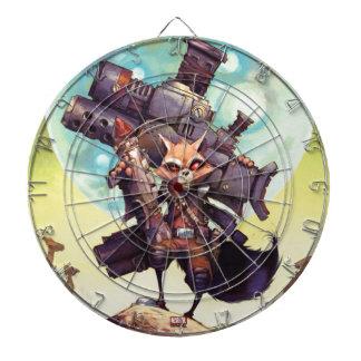 Guardians of the Galaxy | Rocket Armed & Ready Dartboard
