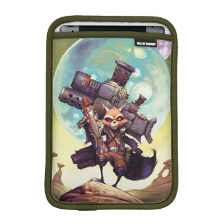 Guardians of the Galaxy | Rocket Armed & Ready iPad Mini Sleeves