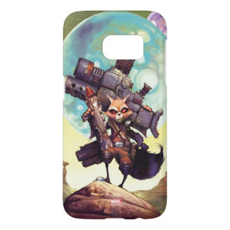 Guardians of the Galaxy | Rocket Armed & Ready Samsung Galaxy S7 Case