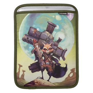 Guardians of the Galaxy | Rocket Armed & Ready Sleeve For iPads