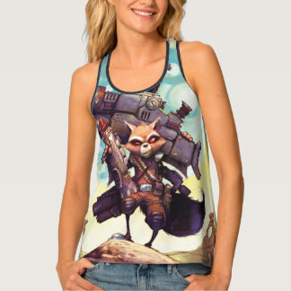 Guardians of the Galaxy | Rocket Armed & Ready Tank Top