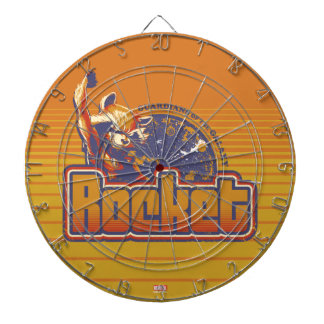 Guardians of the Galaxy | Rocket Character Badge Dartboard