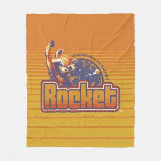 Guardians of the Galaxy | Rocket Character Badge Fleece Blanket