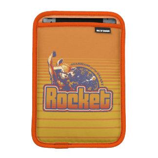 Guardians of the Galaxy   Rocket Character Badge iPad Mini Sleeve