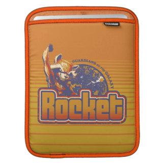 Guardians of the Galaxy   Rocket Character Badge iPad Sleeve