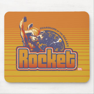 Guardians of the Galaxy | Rocket Character Badge Mouse Pad