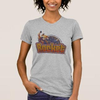 Guardians of the Galaxy   Rocket Character Badge T-Shirt