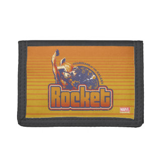 Guardians of the Galaxy | Rocket Character Badge Tri-fold Wallet