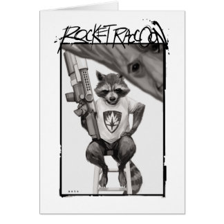 Guardians of the Galaxy | Rocket Comic Cover Art Card