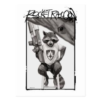 Guardians of the Galaxy | Rocket Comic Cover Art Postcard