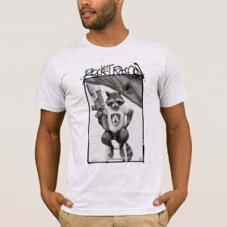 Guardians of the Galaxy | Rocket Comic Cover Art T-Shirt