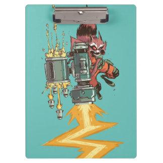 Guardians of the Galaxy   Rocket Full Blast Clipboards