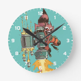 Guardians of the Galaxy | Rocket Full Blast Clocks