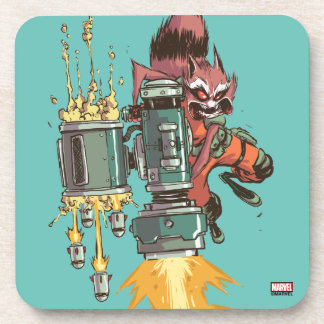 Guardians of the Galaxy   Rocket Full Blast Coaster