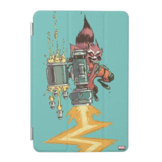 Guardians of the Galaxy   Rocket Full Blast iPad Mini Cover