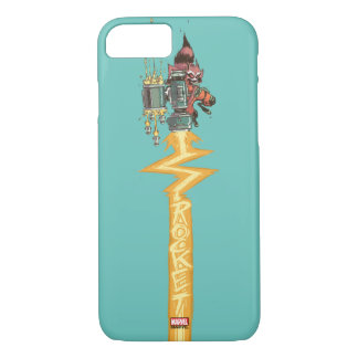 Guardians of the Galaxy | Rocket Full Blast iPhone 8/7 Case