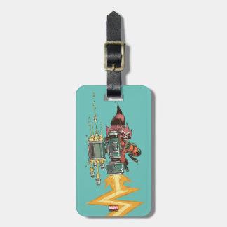 Guardians of the Galaxy | Rocket Full Blast Luggage Tag