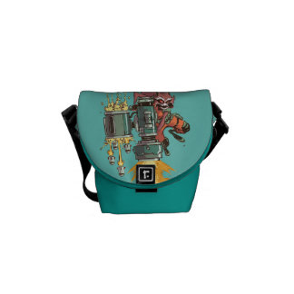 Guardians of the Galaxy | Rocket Full Blast Messenger Bags
