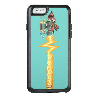 Guardians of the Galaxy | Rocket Full Blast OtterBox iPhone 6/6s Case