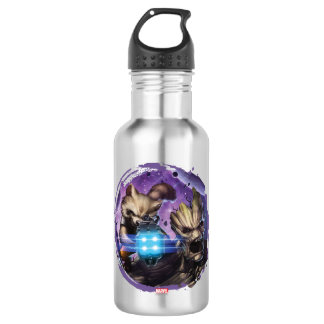 Guardians of the Galaxy | Rocket & Groot Attack 532 Ml Water Bottle
