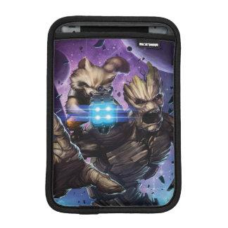 Guardians of the Galaxy | Rocket & Groot Attack iPad Mini Sleeve