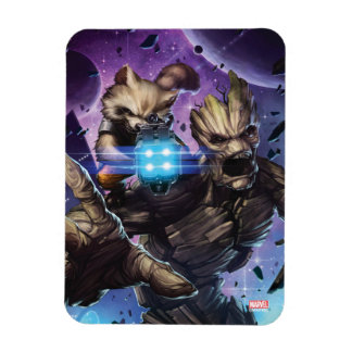 Guardians of the Galaxy | Rocket & Groot Attack Magnet