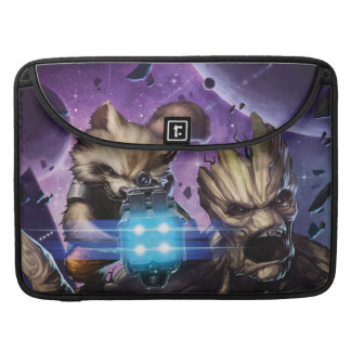 Guardians of the Galaxy | Rocket & Groot Attack Sleeve For MacBooks
