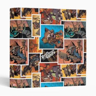 Guardians of the Galaxy | Rocket & Groot Collage 3 Ring Binders