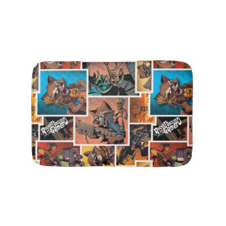 Guardians of the Galaxy | Rocket & Groot Collage Bath Mat