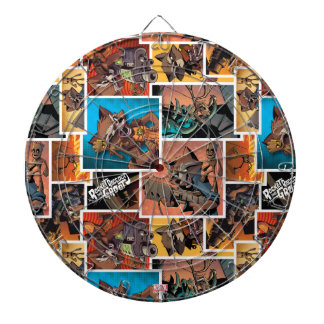 Guardians of the Galaxy | Rocket & Groot Collage Dart Board