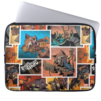 Guardians of the Galaxy | Rocket & Groot Collage Laptop Sleeve