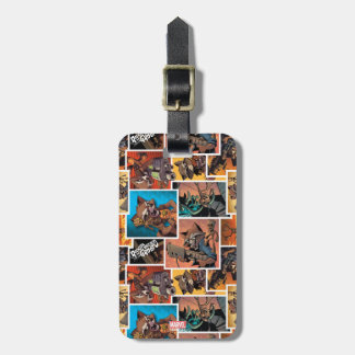 Guardians of the Galaxy | Rocket & Groot Collage Luggage Tag