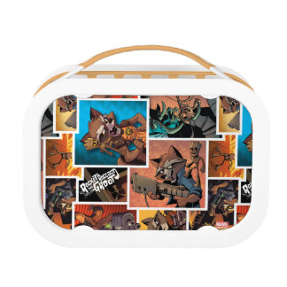 Guardians of the Galaxy | Rocket & Groot Collage Lunch Box