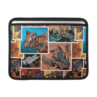 Guardians of the Galaxy | Rocket & Groot Collage Sleeve For MacBook Air