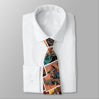 Guardians of the Galaxy | Rocket & Groot Collage Tie