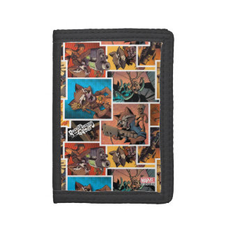 Guardians of the Galaxy | Rocket & Groot Collage Trifold Wallet