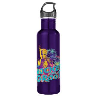 Guardians of the Galaxy | Rocket & Groot Neon Art 710 Ml Water Bottle